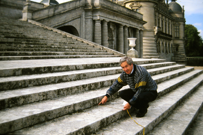 frans at Chantilly castle in 1993